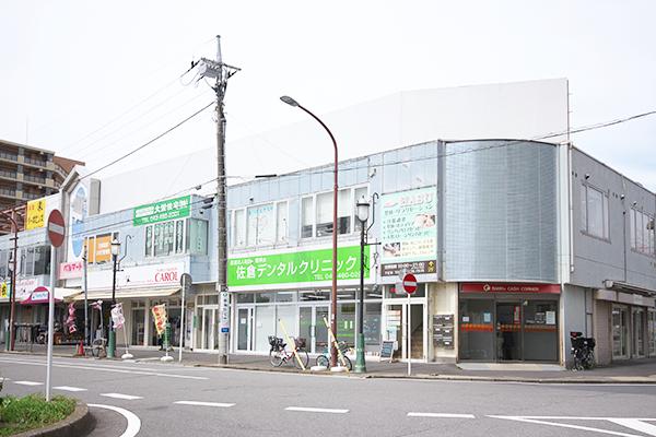京成臼井駅北口ロータリー